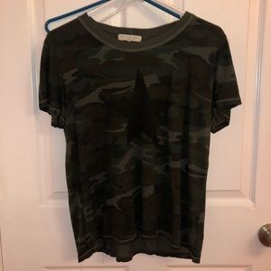 URBAN OUTFITTERS Barely used Camo Tee